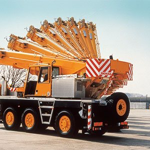 1993 Introduction of a 50t all terrain crane family