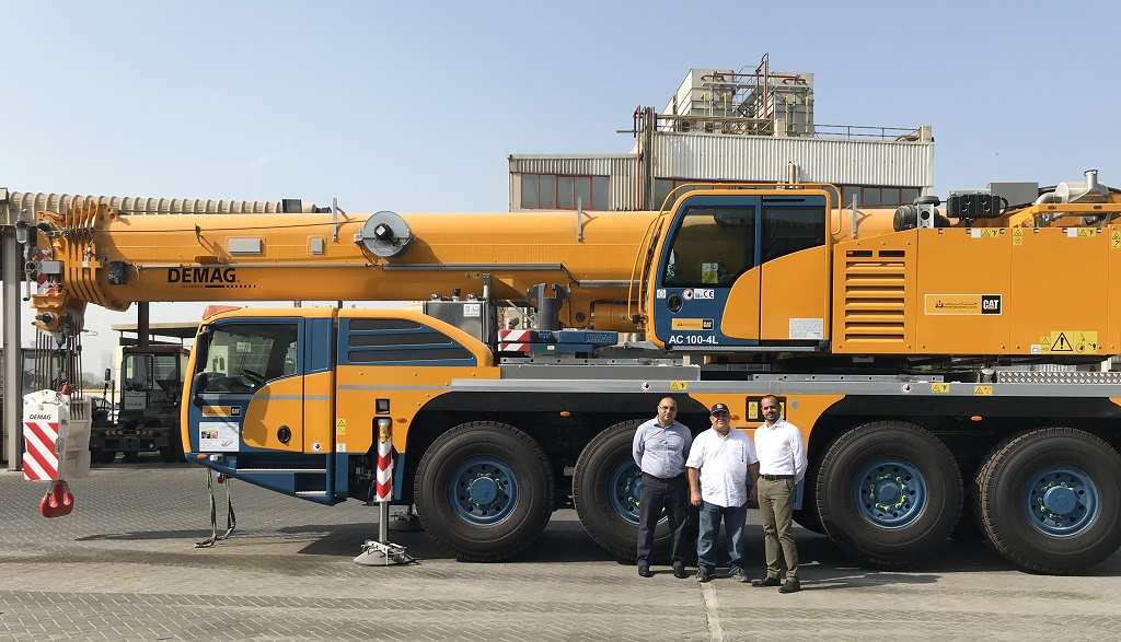 New Demag AC 100-4L for Sharjah Seaports | Demag Mobile Cranes