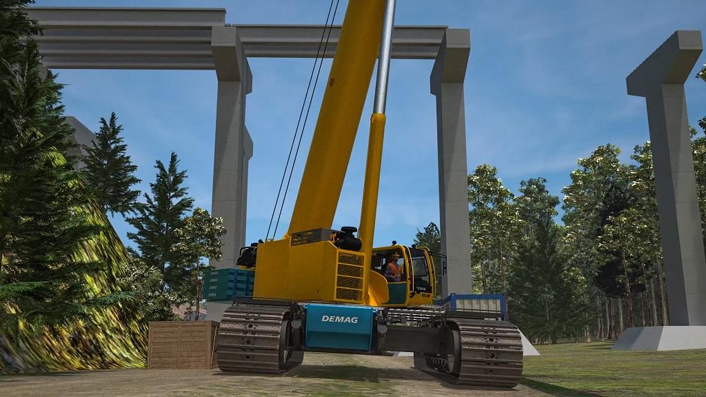 New Demag TCC 160 telescopic crawler crane | Demag Mobile Cranes