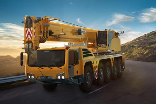 AC 220-5 All Terrain Crane | Demag Mobile Cranes
