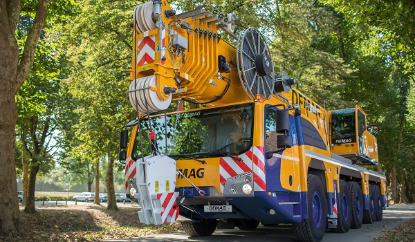 Demag AC 250-5 Test Drive 1