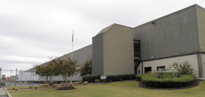 Terex Cranes parts warehouse in Southaven, Mississippi