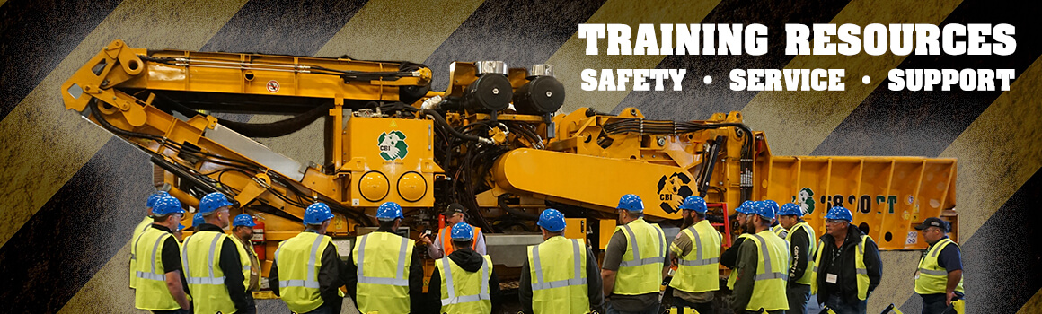 Training resources for horizontal grinders, industrial wood chippers, and flail debarkers.