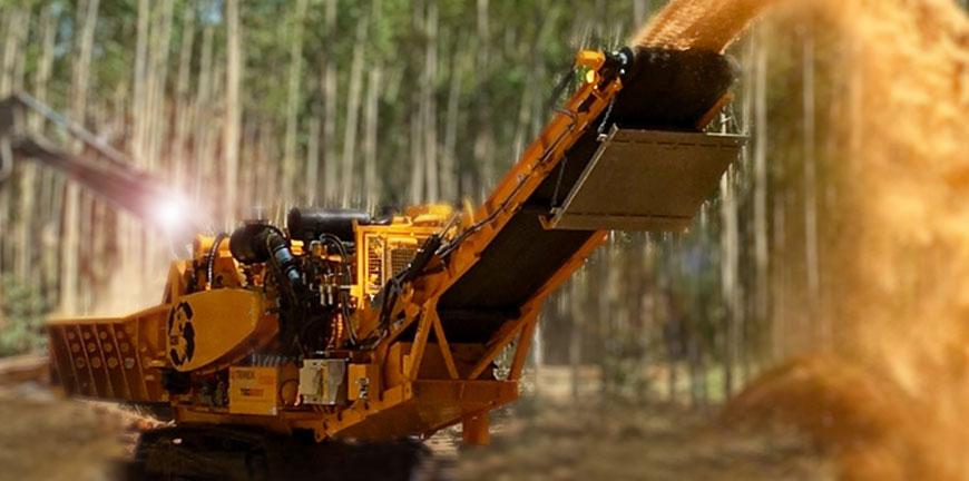 Industrial Wood Chipper 5400bt Cbi