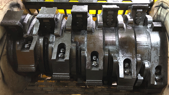 6400 Grinder Solid Steel Rotor