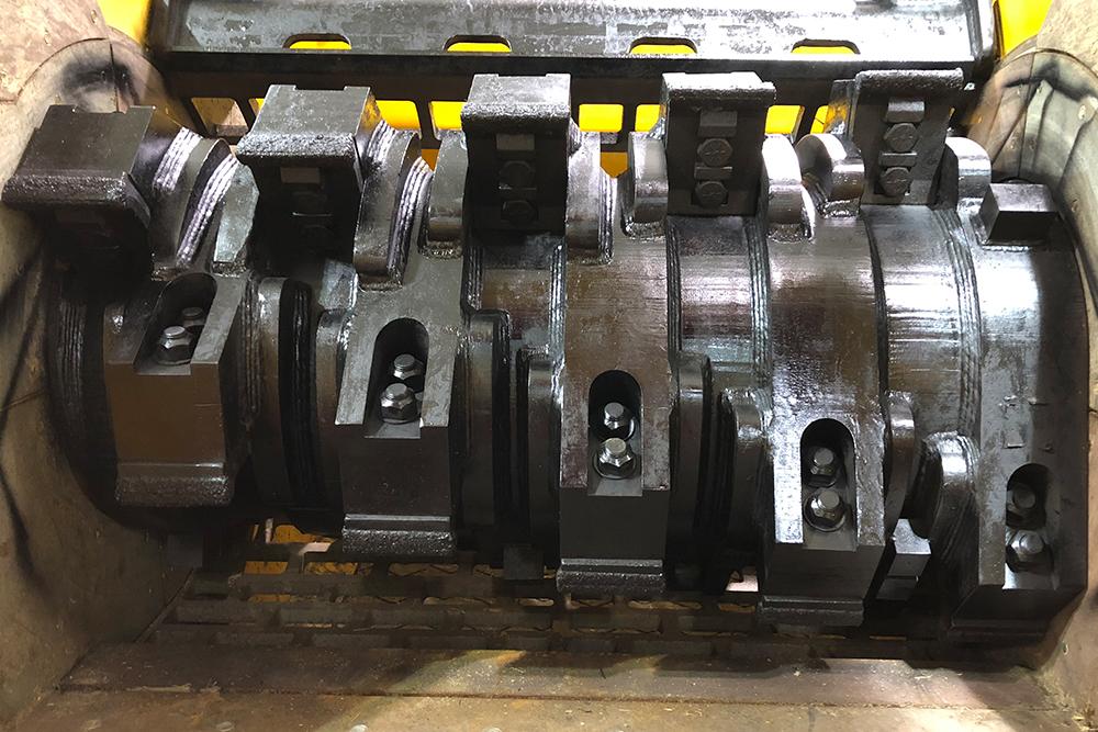 6400CT Horizontal Grinder Solid Steel Rotor