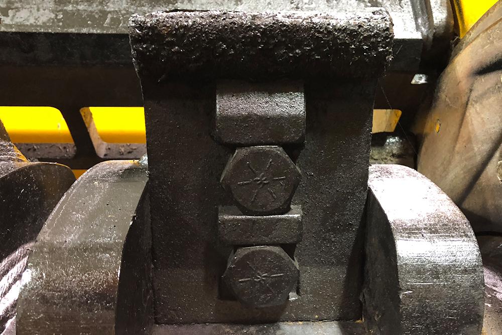 6400CT wood waste grinder striker plate