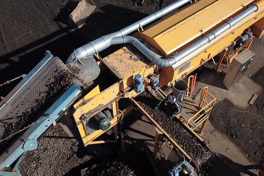 CBI AirMax Material Density Separator