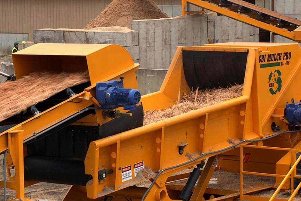 cbi mulch pro grinder