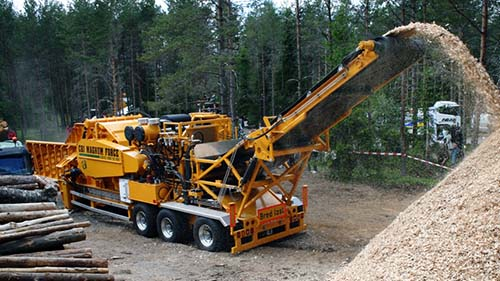 CBI 8400 Industrial Wood Chipper