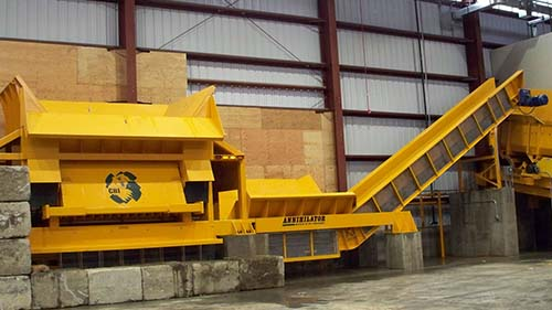 The CBI Annihilator Industrial Shredder