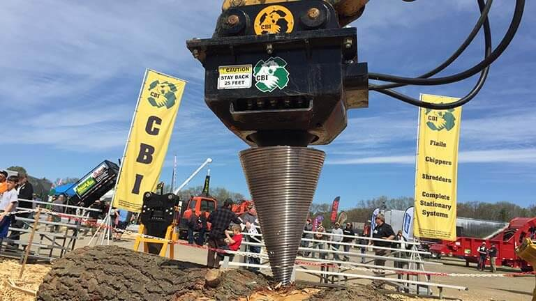 CBI Screw Log Splitter