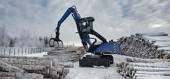 Jobreport Holzumschlag
