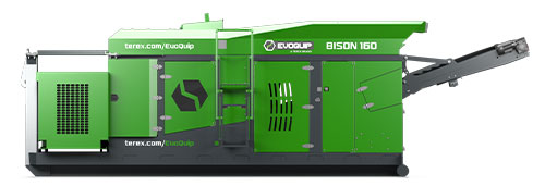 Bison 160Hook-lift Jaw Crusher