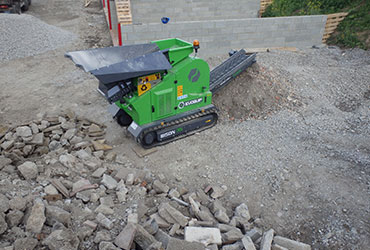 Bison 35 Crushing Construction and Demolition Debris