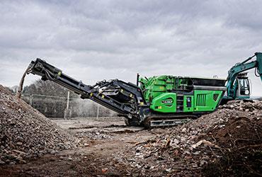Cobra 290 Impact Crusher Working in Ireland
