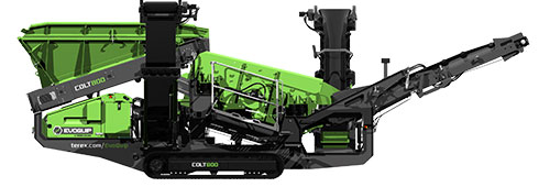 Colt 800 Screener Product Render Side View