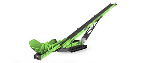 75 Foot Tracked Low Level Feeder Conveyor