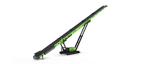 EvoQuip 100 Foot Tracked Mobile Conveyor