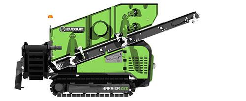 Harrier 220 Compact Screener Side View