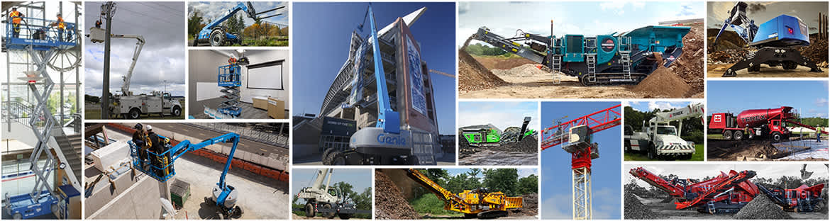 Terex Corporation Product Line Up