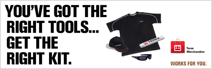 Terex Corporation industrial equipment t-shirt