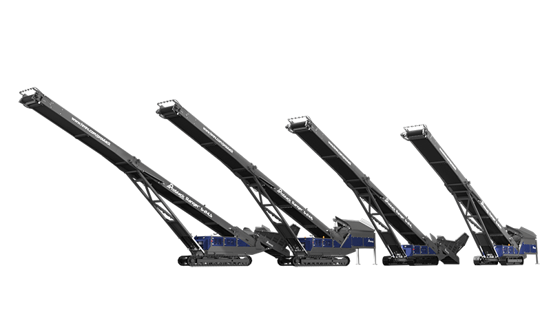 ProStack Tracked Conveyors Side by Side
