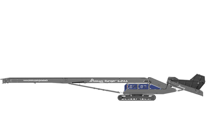 ProStack Ranger Radial Track Conveyor at Minimum Height