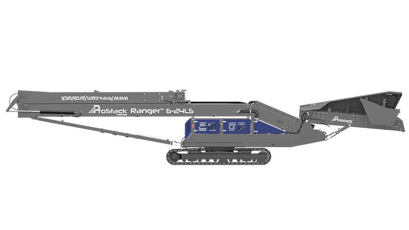 Ranger Radial Track Conveyor Ready for Transporting