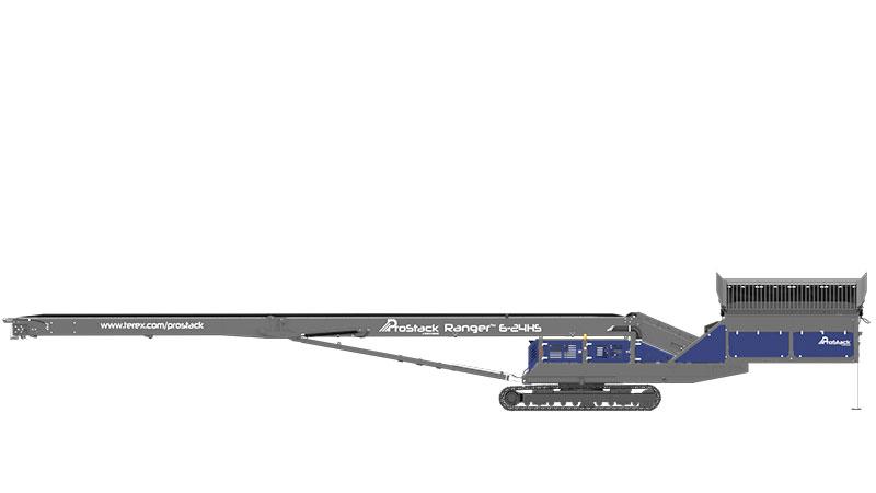 ProStack Ranger Rotating Track Left View