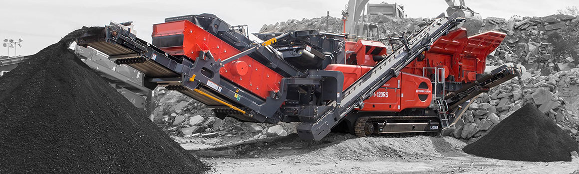 Terex Finlay I120RS Impact Crusher