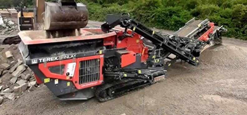 Jobreport Terex Finlay IC-110RS Impact Crusher