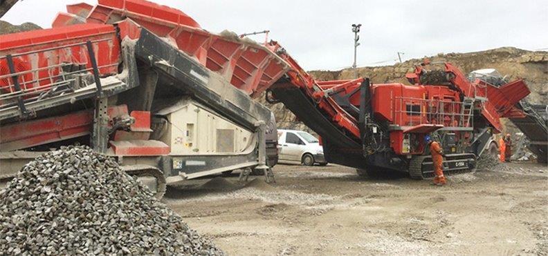 Jobreport Terex Finlay C-1554 Cone Crusher (Limestone)