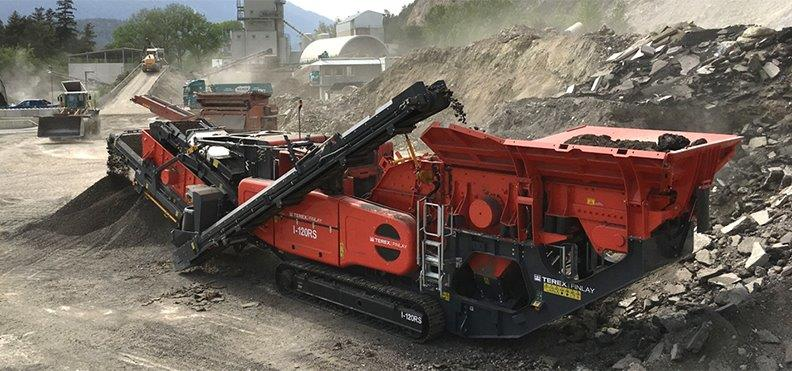 Jobreport Terex Finlay I-120RS Impact Crusher (Asphalt Recycling)