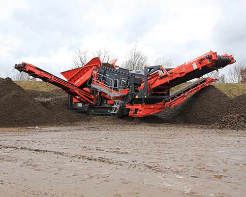 Terex Finlay 873 Spaleck recycling screener (1)