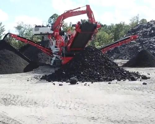 Terex Finlay 883+ (Triple Shaft) Heavy Duty Screener recycling asphalt
