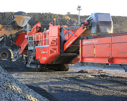 Terex Finlay C-1540 (direct drive) cone crusher (1)