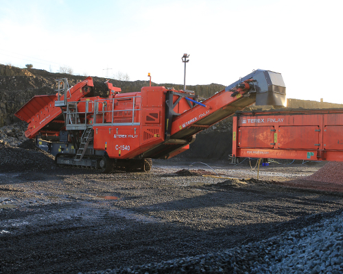 Terex Finlay C-1540 (direct drive) cone crusher (2)
