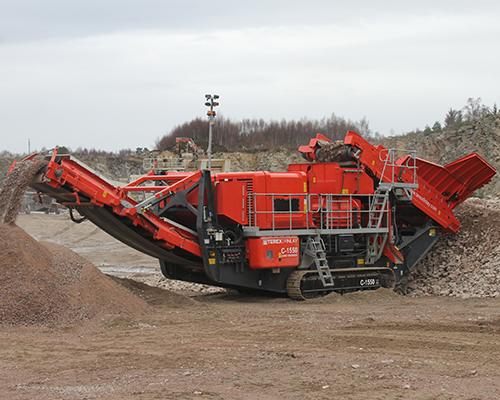 Terex Finlay C-1550 cone crusher (1)