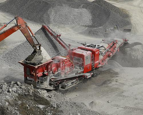 Terex Finlay I-140RS impact crusher  (5)