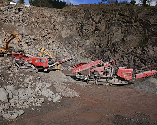 Terex Finlay J-1170 direct drive jaw crusher (2)