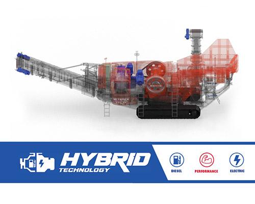 Terex Finlay J-1280 tracked jaw crusher | hybrid jaw crusher