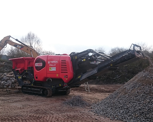 Terex Finlay J-960 jaw crusher (1)