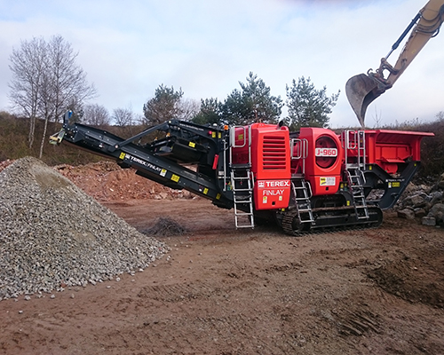 Terex Finlay J-960 jaw crusher (5)