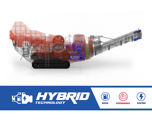 Terex Finlay J-1280 hybrid jaw crusher (1)