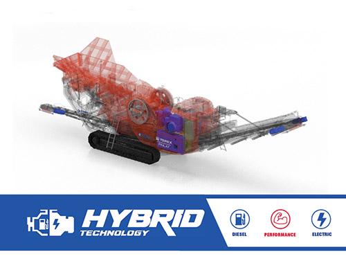 Terex Finlay J-1280 hybrid jaw crusher | hybrid jaw crusher