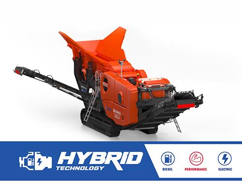 J-1280 hybrid jaw crusher