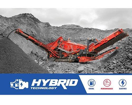 Terex Finlay 883+ Hybrid