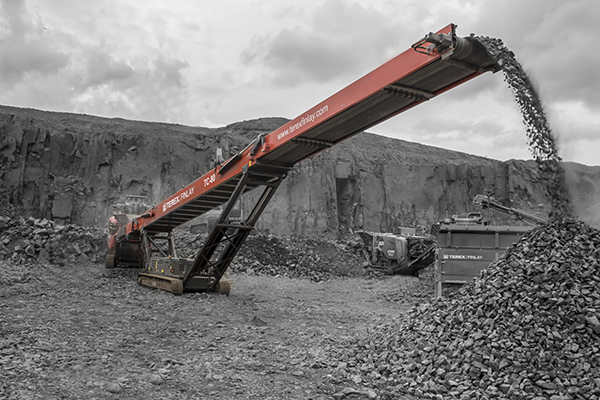 Terex Finlay TC-80 conveyor