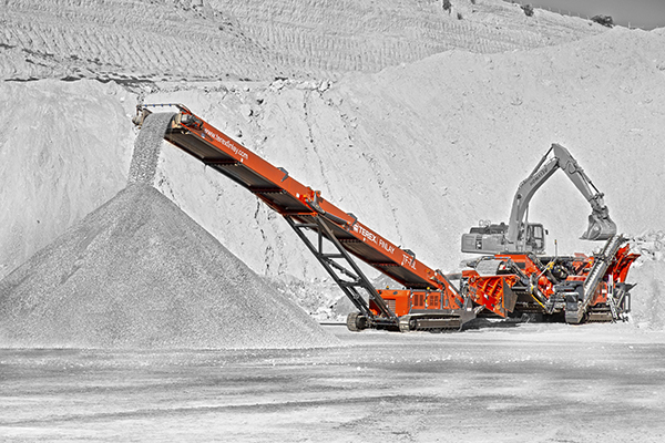 Terex Finlay TF-75L low level feeder